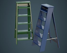 3D model Step Ladder 3A
