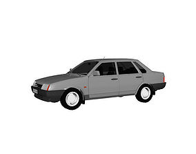 VAZ 2109 LADA SAMARA 3D model
