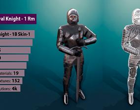 3D model TAB Medieval Knight - 1Rm B - Skin1