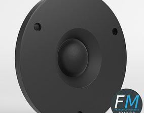 3D model Tweeter speaker