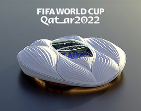 alwakrah aljanoub stadium-qatar 2022 world 3D model 1