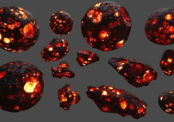 fire asteroid