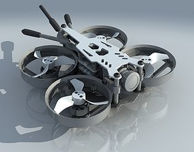 3D Bionic dragonfly four-axis Quadcopter UAV aircraft