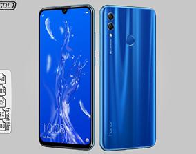 3D Huawei Honor 10 Lite Sapphire Blue