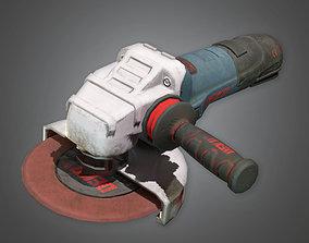 3D model TLS - Electric Grinder - PBR Game Ready