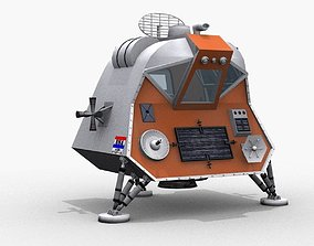 SPACE POD from Lost In Space lost 3D model