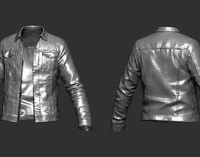 3D Denim Jacket