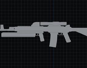 AR-25 3D model