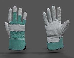 3D model VR Hands - Garden Glove