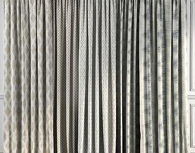 Curtain Set 49 3D