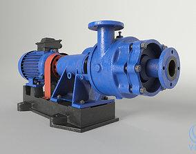 Centrifugal console pump 3D model