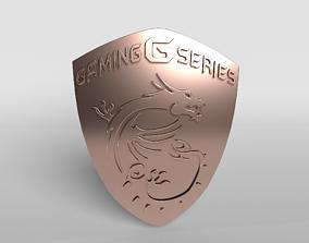 3D model MSI Logo 04 - 4K Texture