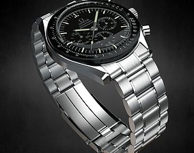 Omega Speedmaster Watch 3D