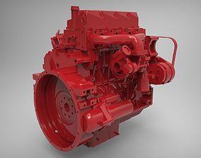 Engine Cummins ISF 3 3D