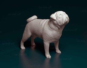 3D print model pet Pug dog