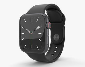 Apple Watch Series 5 40mm SG Aluminum Case with 3D model 1