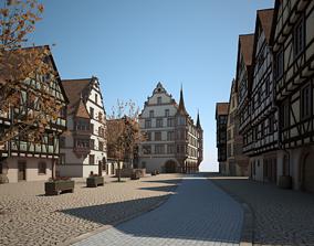 building 3D Medieval Village