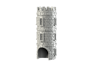 dicetower 3D printable model