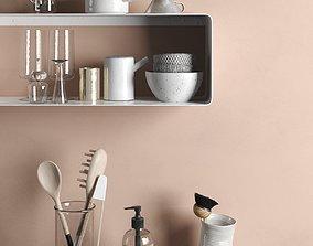 Kitchenware Set 3D model