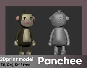 3D print model Cute baby Panchee