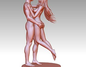 3D Printable Nude Couple