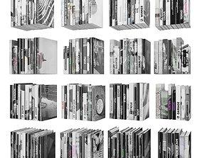 Books 150 pieces 2-9-5 3D asset