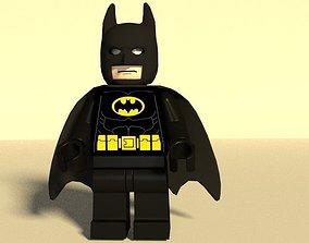 Lego Batman Lego mini-fig Low-poly 3D asset