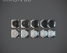 Light Switch Simon 88 vol2 3D