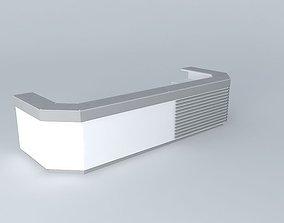 3D Front desk