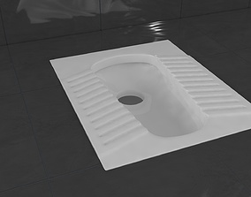 3D model Squat Toilet Alaturka Closet