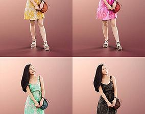 11353 Anita - 4 Texturevariations Asian Woman 3D model 2