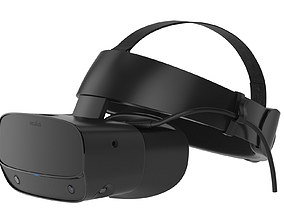 Oculus Rift S VR Headsets 3D model