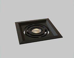 Spotlight LED Contemporary Design lowpoly 3D model