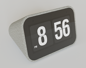 3D Smart Clock with Google Assistant