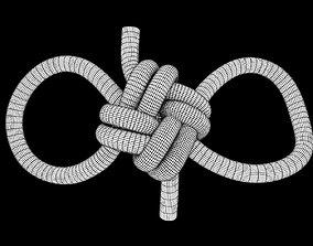 3D asset low-poly abok 2435 knot