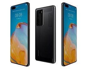 3D Huawei P40 Pro Black