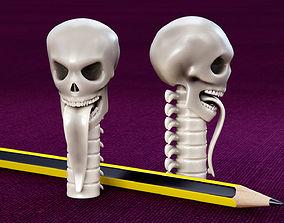 3D printable model Skull Pencil Cap