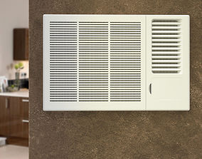 Window Air Conditioner 3D model