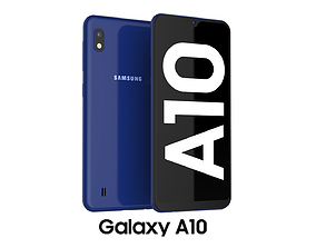 telephone 3D Samsung Galaxy A10 Blue