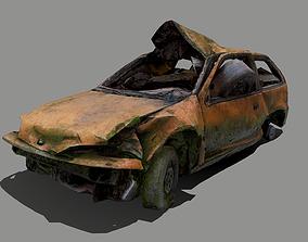 3D model Mossy Crushed Car