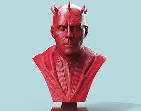 Darth Maul Bust mandalorian 3D print model