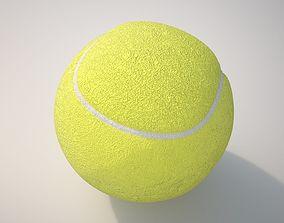 3D PBR Tennis Ball
