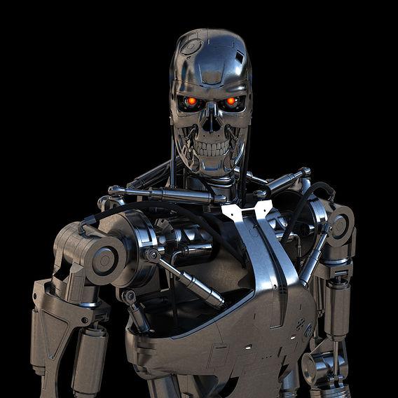 Terminator T-800 Endoskeleton Final
