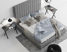 Meridiani Tuyo Bed 3D model