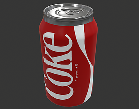3D asset Coca Cola Coke Can