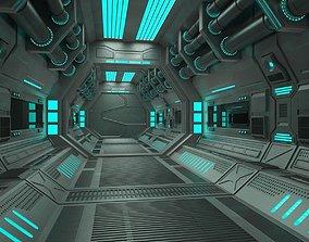 3D Sci Fi Tunnel