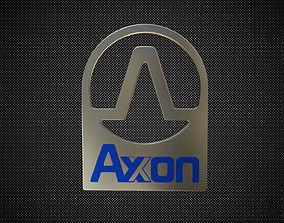 axon logo 3D