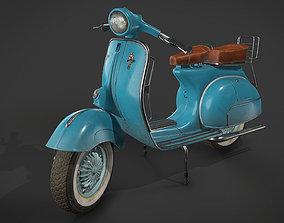 Vespa Vintage Scooter 3D asset