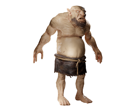 3D Ogre creature