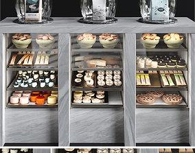 Dessert fridge 3D